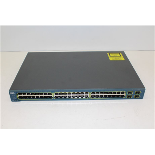 Cisco Catalyst 3560-48TS 48-port Switch - ROUTERS/SWITCHES