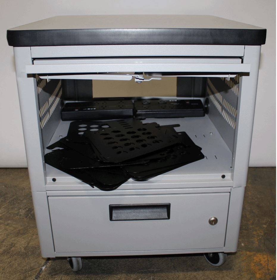 BLACK BOX TABLET CART- 16UNIT