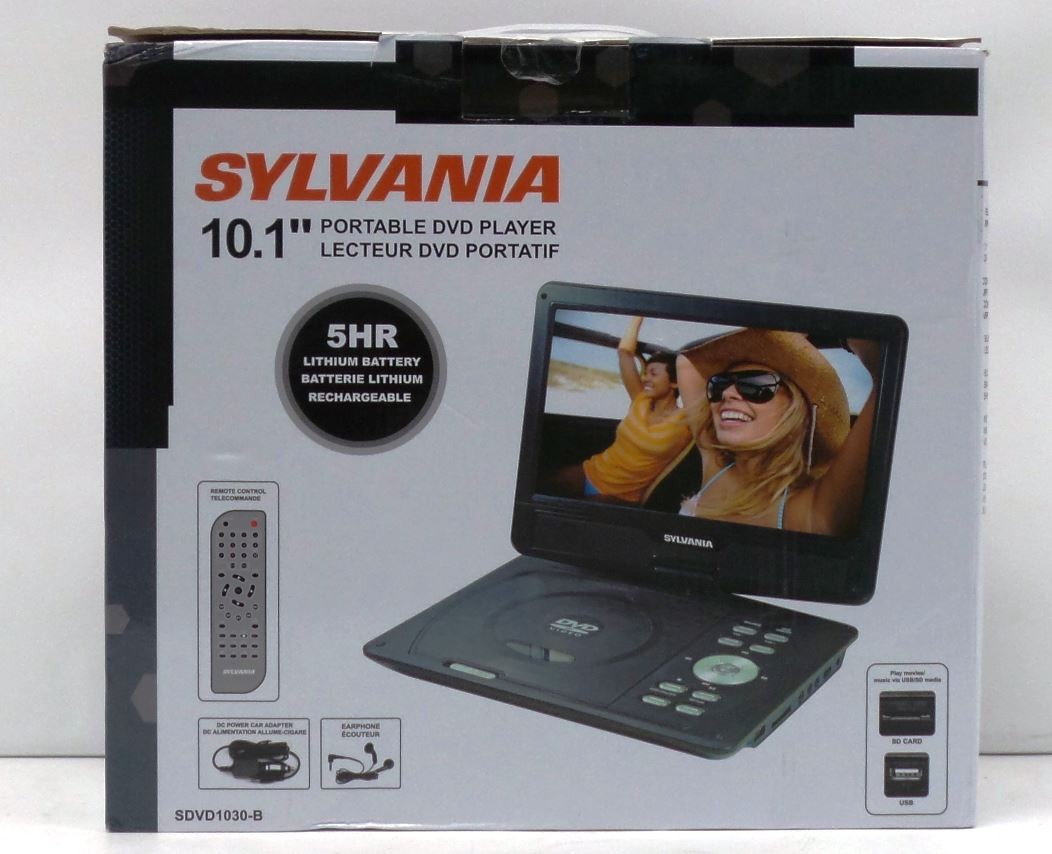 Sylvania 10 Portable Dvd Player