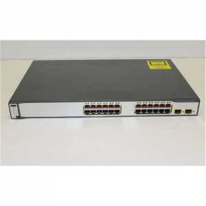 Cisco Catalyst 3750G-24PS 24pt PoE Swtch