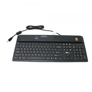 KSI BLACK 104 USB KB/TCS1 FINGERPRNT