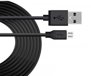 Extra Long Micro Usb Charge/sync 10ft BK