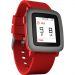 Pebble - Time 22mm Smartwatch Red
