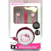 Hello Kitty HK-12309WHT-FR Earbuds